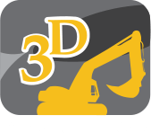 3D Demolition Footer Logo