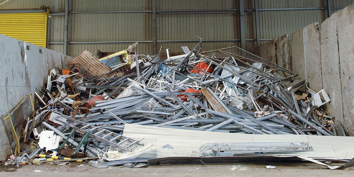 recyclable material from demolition